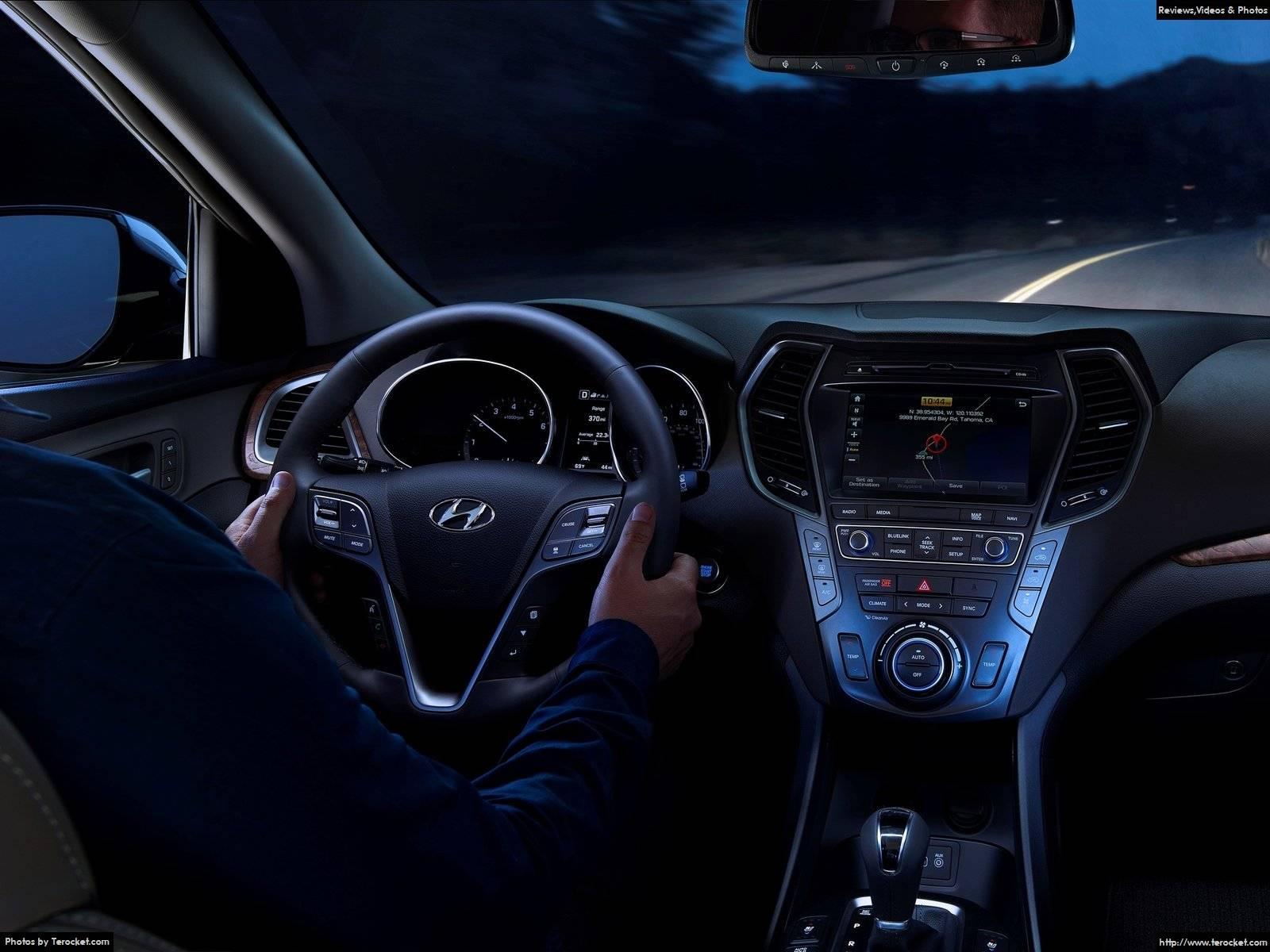 Hình ảnh xe ô tô Hyundai Santa Fe 2017 & nội ngoại thất