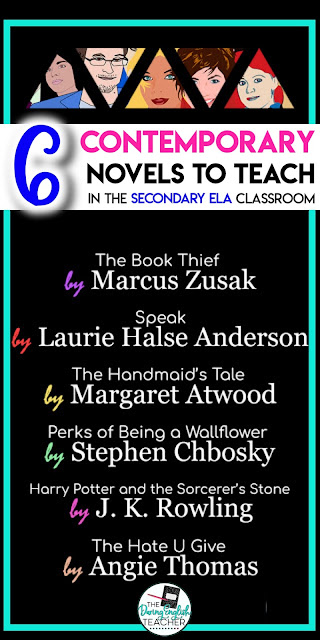 6 Contemporary Novels to Teach in the Secondary ELA Classroom