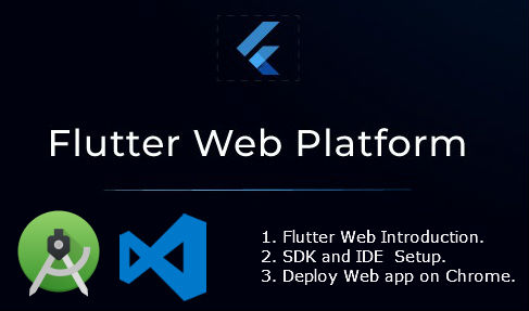 flutter web demo with android studio