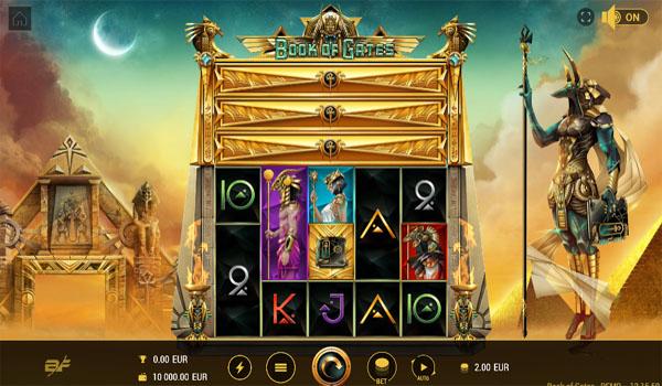 Main Gratis Slot Indonesia - Book of Gates Megaways BF Games