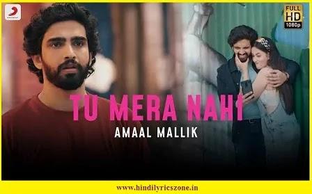 Tu Mera Nahi (Hindi Lyrics) || Amaal Mallik || Rashmi Virag || Love Song 2020