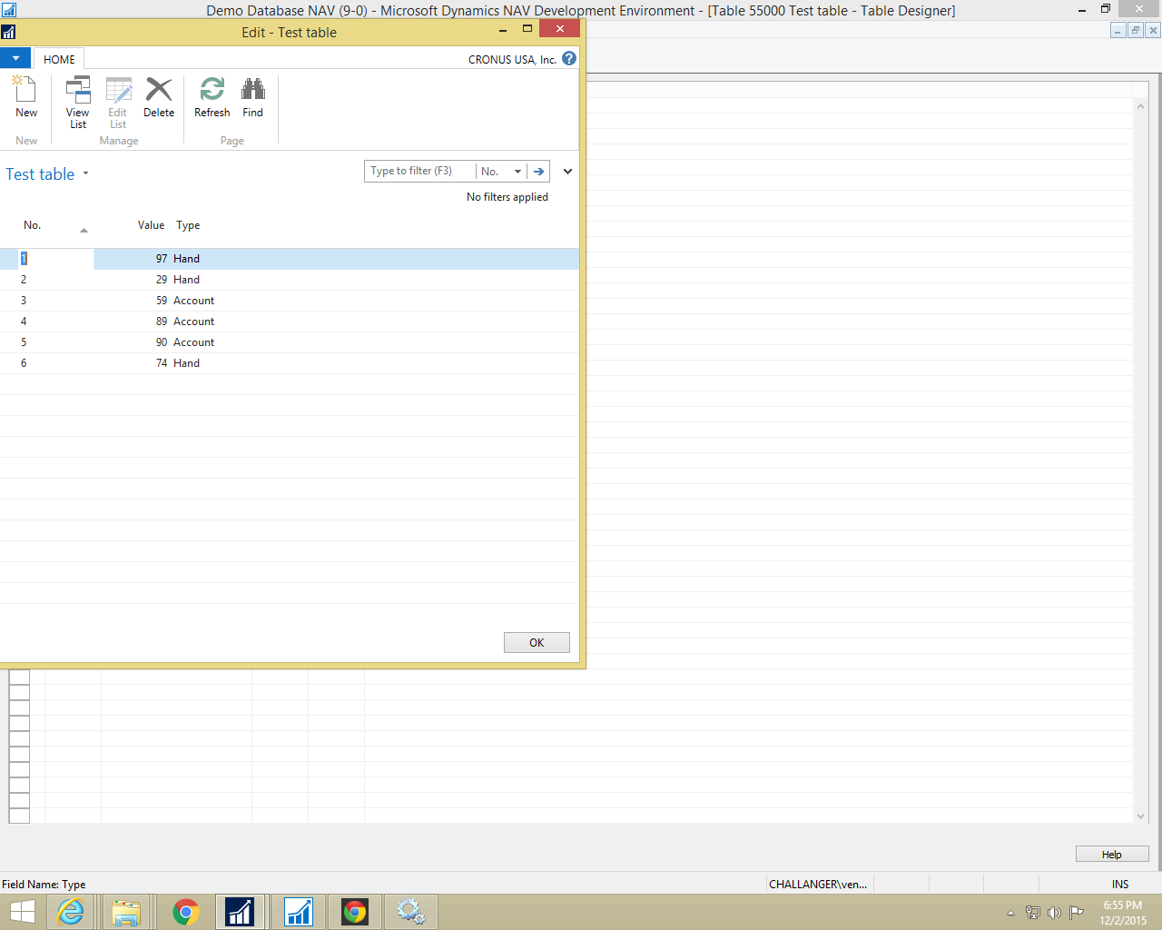 Navision For Beginners Creating Graph In Excel Using