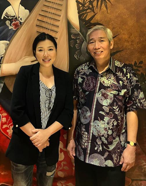 Christina Lee bersama Lo Kheng Hong;Sukses Bisnis Ala Pak Lo Kheng Hong