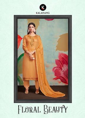 Kalarang Floral Beauty Jam Cotton Salwar Kameez Collection