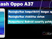 Cara Flash Oppo A37 Atasi Hang Logo dan Botloop