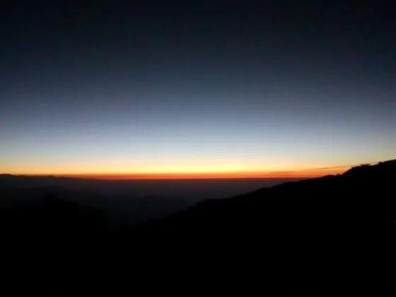 Sunrise-at-Tiger-Hill at Darjeeling in 2020