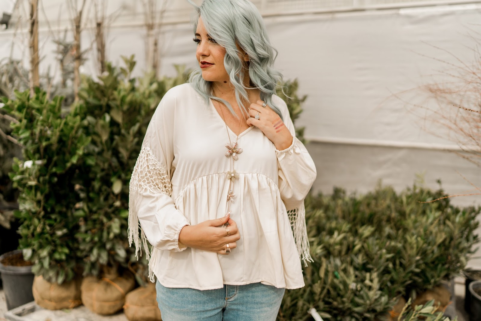 Blue Hair, ASOS Maternity, Fashion Blogger