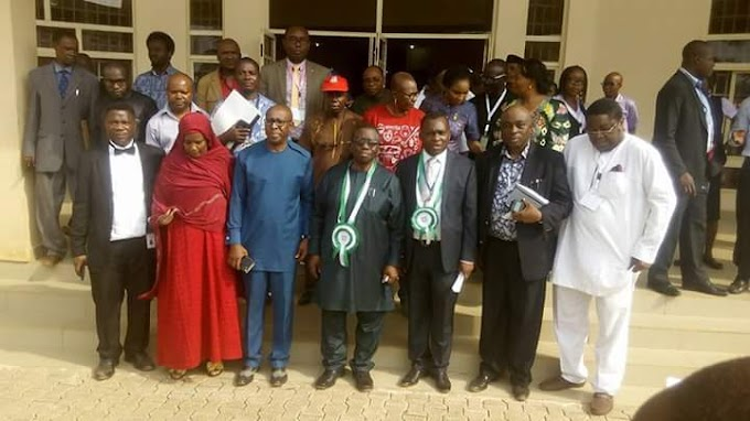 ADEWOLE, AHUKANNAH COMMEND IKPEAZU FOR HOSTING THE 59TH NATIONAL COUNCIL ON HEALTH AND HIS GIANT STRIDE IN THE HEALTH SECTOR.
