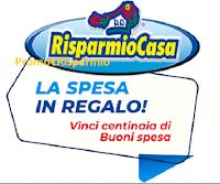 Logo Concorso Risparmio Casa ''La spesa in regalo'': vinci gratis buoni spesa da 30 euro