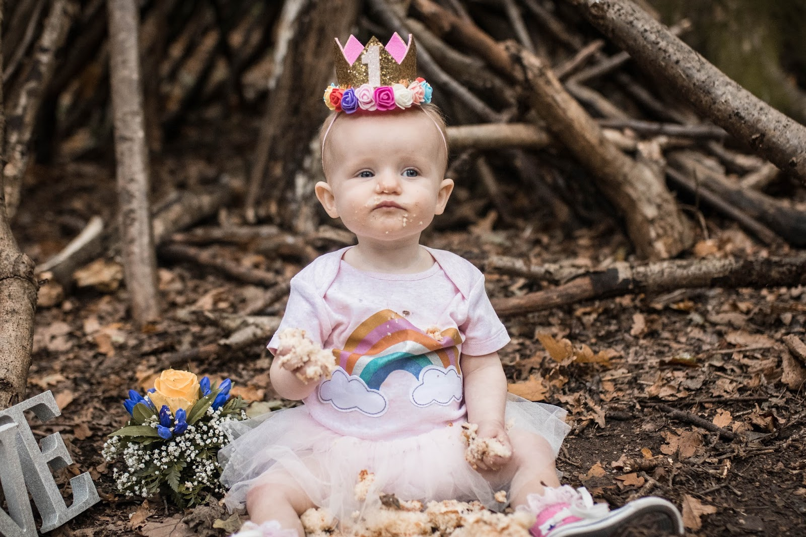 HAPPY FIRST BIRTHDAY - A LETTER TO MY RAINBOW DAUGHTER - The