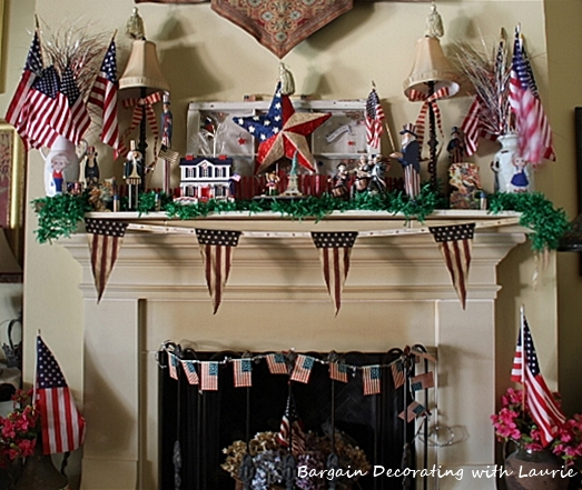 Independence Day on the mantle