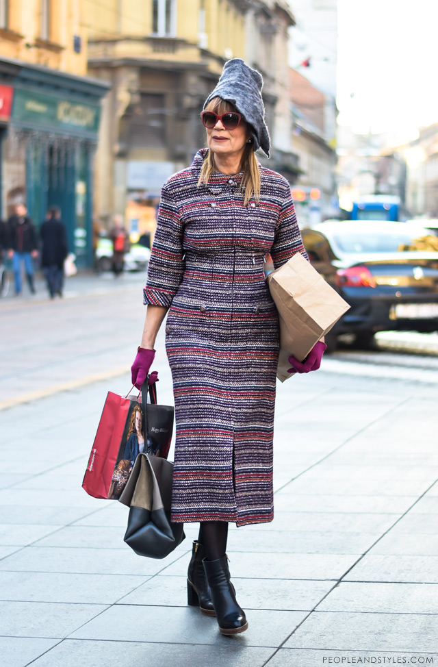 Đurđa Tedeschi ulična moda, street fashion December 2014, People & Styles fashion blog