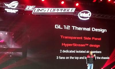 Desain Sistem Pendingin ROG G12
