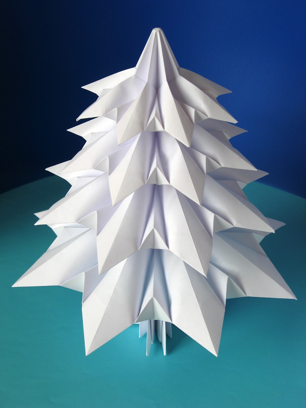 Origami: Abete 3 - Fir tree 3