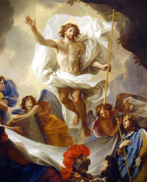 XV Estação da Via-Sacra - Jesus ressuscita como tinha dito