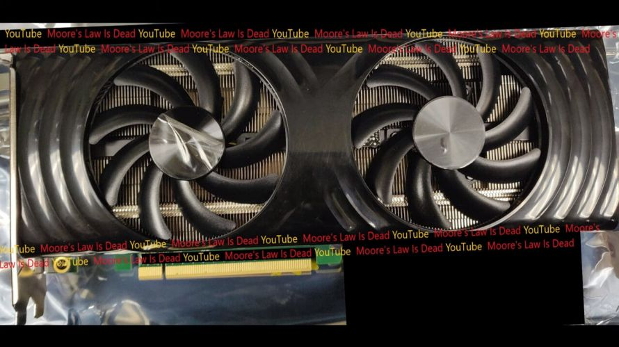Intel Xe-HPG DG2 Fotoğrafı