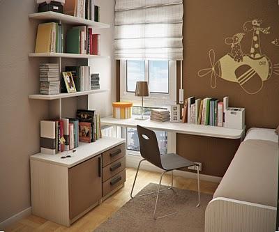 contoh meja belajar minimalis untuk buah hati