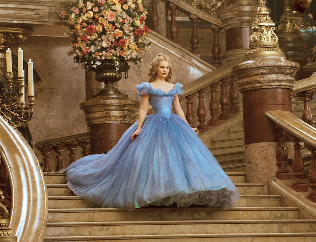 "Lily James in ""Cinderella"""