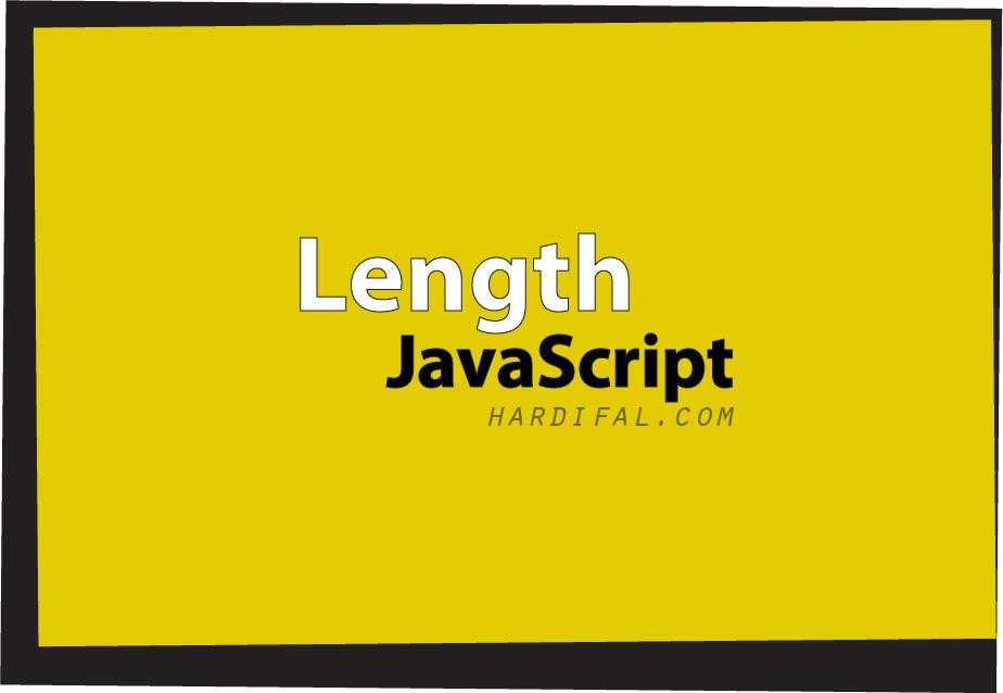 Mengenal fungsi .length pada javascript