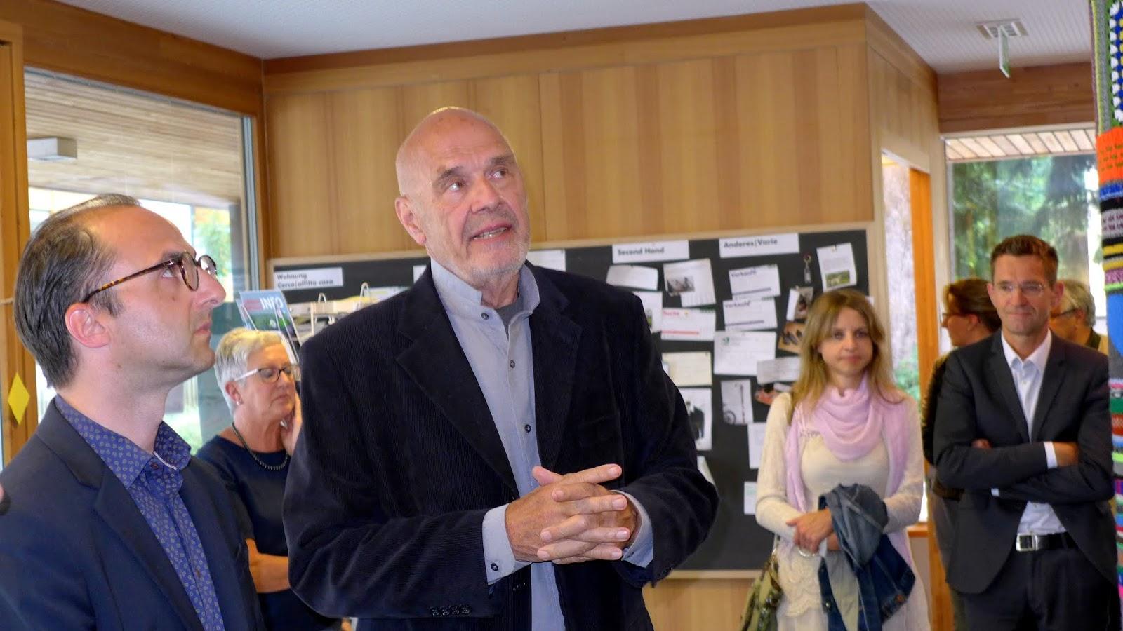 Bibliothek Hans Glauber - Toblach: Vernissage Jörg Madlener (NY)