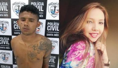 """""""ESTRANGULOU"""" - Suspeito de matar jovem ao negar manter relações sexuais é preso no Maranhão"""