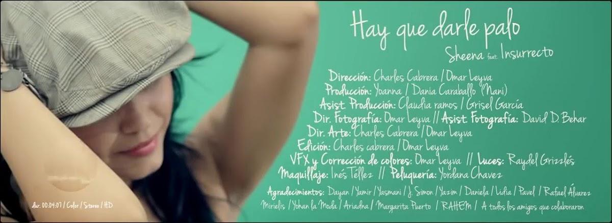 Shiina - ¨Hay que darle palo¨ - Videoclip - Dirección: Charles Cabrera - Omar Leyva. Portal Del Vídeo Clip Cubano - 01