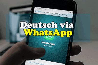 Deutsch lernen via WhatsApp