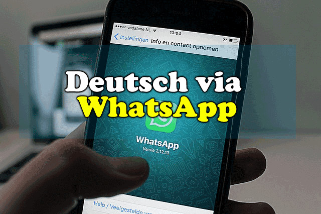 Deutsch lernen via WhatsApp