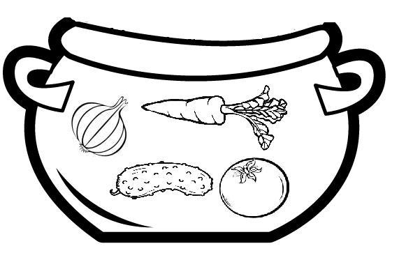 Boberkowy World : Zupa jarzynowa- praca plastyczna