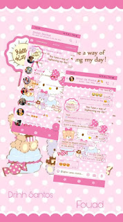 Hello KItty Theme For YOWhatsApp & Fouad WhatsApp By Driih Santos