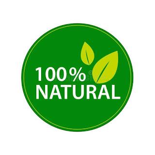 Logo ingredientes naturais