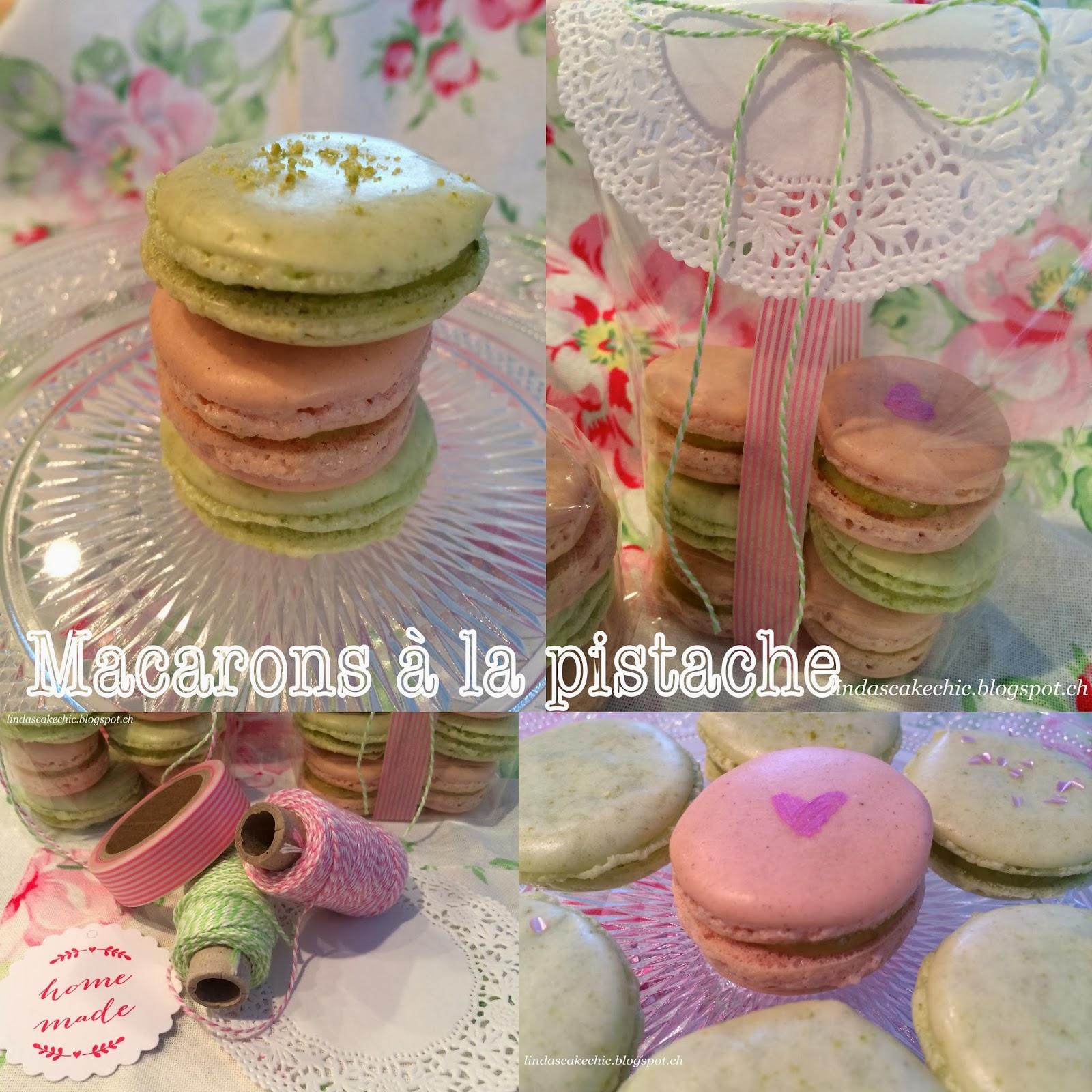 lindas cake chic macarons la pistache. Black Bedroom Furniture Sets. Home Design Ideas