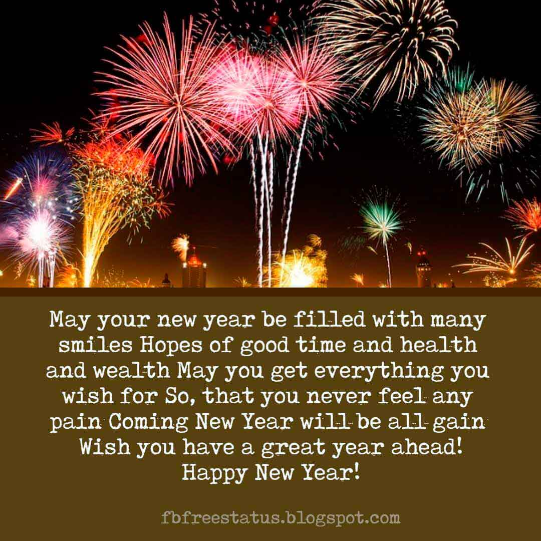 New Year Wishes Quotes, Greeting, Messages & New Year ...