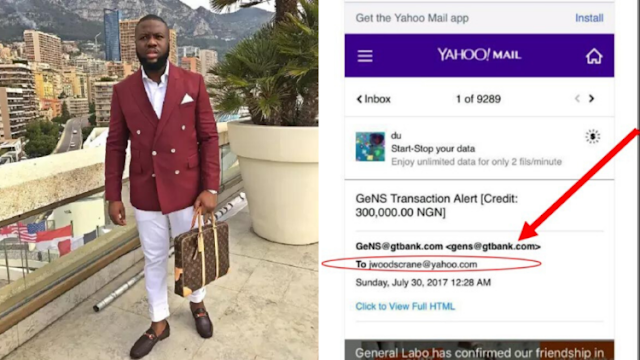 See the first Person to expose Hushpuppi's criminal activities in 2017