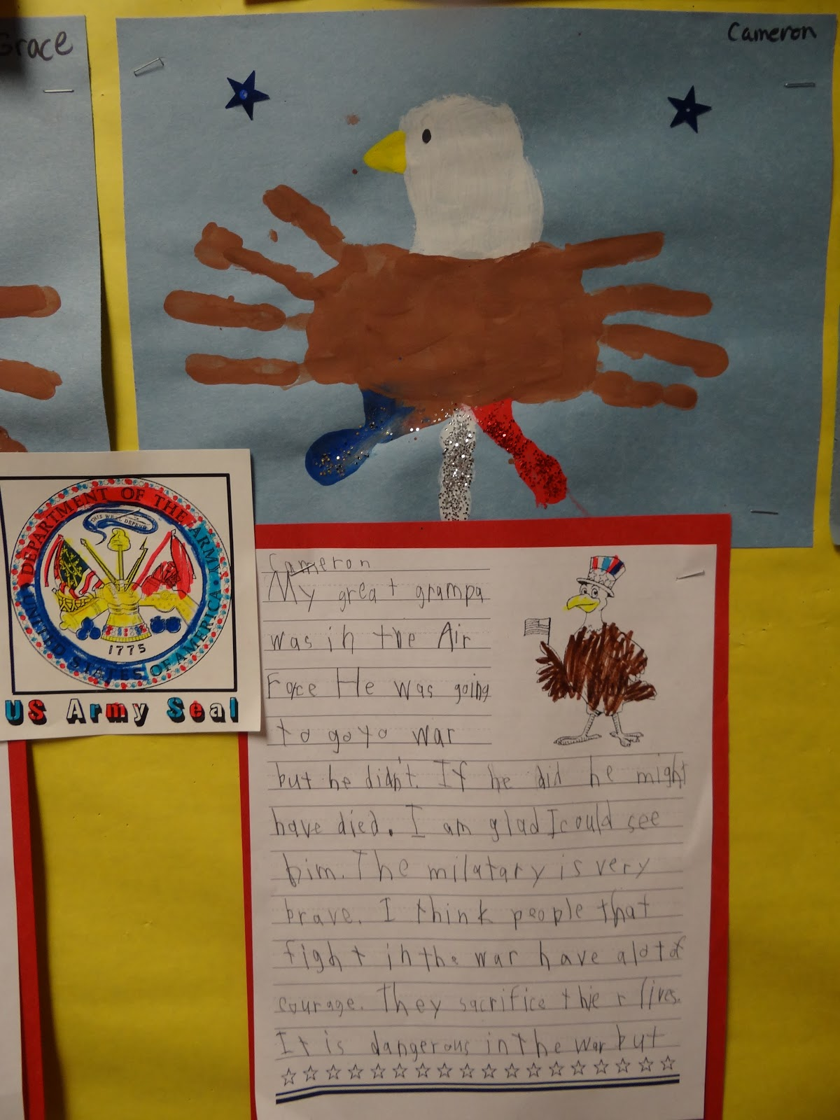 Patties Classroom Veteran S Day Activities