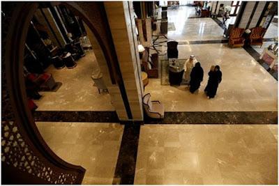 interior hotel halal Al Meroz di Bangkok