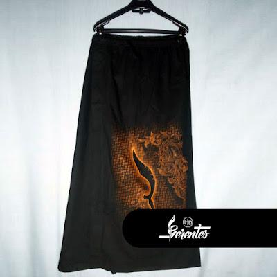 Celana Sarung Lukis