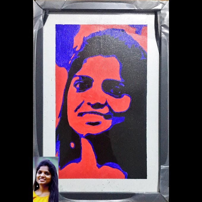 Customized Arcylic painting - Special Gift