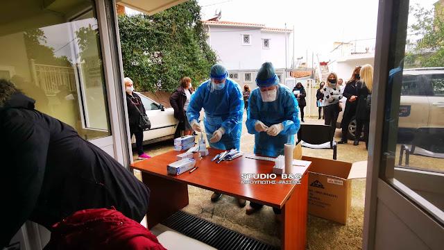 Τεστ κορωνοϊού σε εργαζόμενους στη Σχολική Καθαριότητα του Δήμου Ναυπλιέων