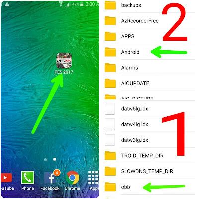 لعبة PES 2017 للاندرويد , pes 2017 android , بيس 2017 اندرويد