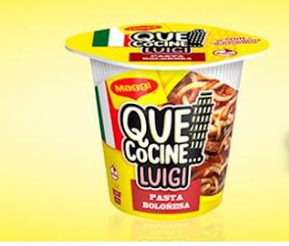 "Prueba ""Que cocine Luigi"" de Maggi"