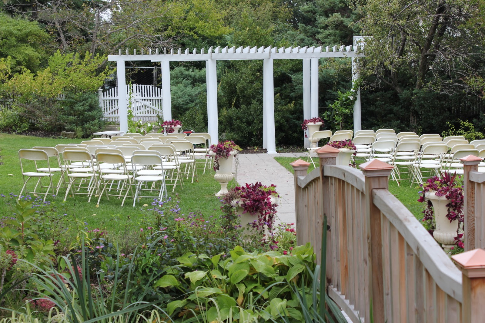 A Wedding In Queens Botanical Garden