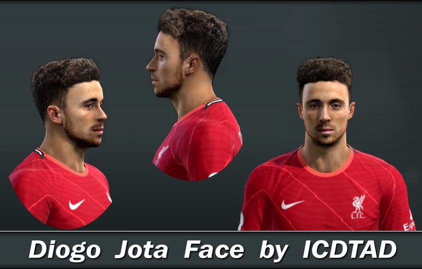 Faces Diogo Jota For PES 2013