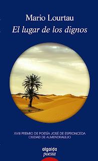 El lugar de los dignos, libro de poesía de Mario Lourtau