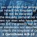 1 Corinthians 6-9-10