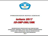 Buku Panduan Kerja Kepala Sekolah terbaru tahun 2017 jenjang SD-SMP-SMA/SMK format PDF