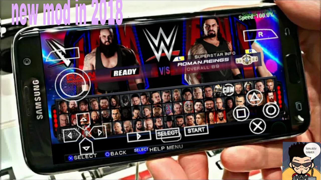 How To Download WWE 2K18 PPSSPP Game For Android With Highly