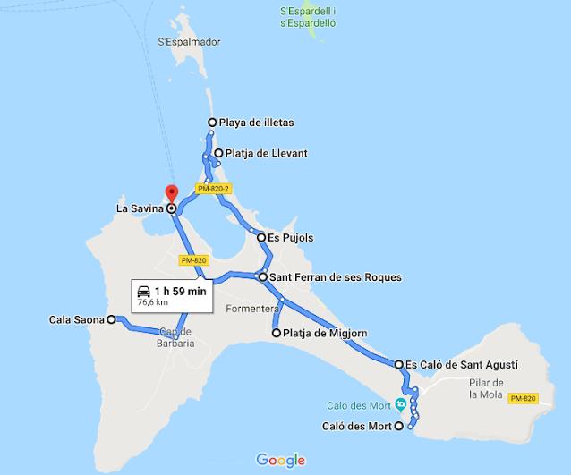 Zona migliore dove alloggiare a Formentera