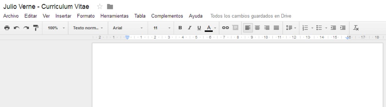 Curriculum en Google Drive