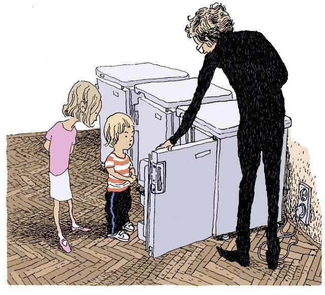 Polska Ilustracja Dla Dzieci Nowość Bałwan W Lodówce